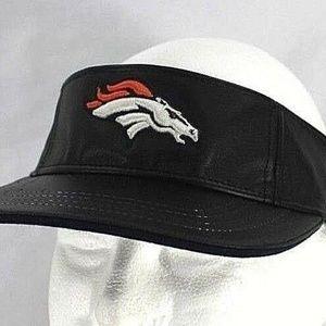 Denver Broncos  Rams Leather  Visor  Adjustable